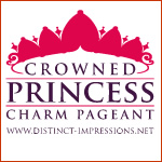 Crowned Princess Charm Pageant