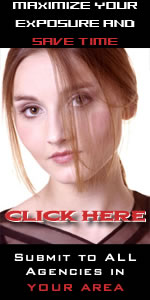 Submit to all talent agencies, acting agencies and modeling agencies in your area with one click
